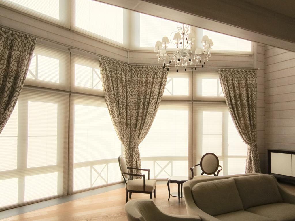 1.13 шторы в гостиную и плиссе с электроприводом (2)