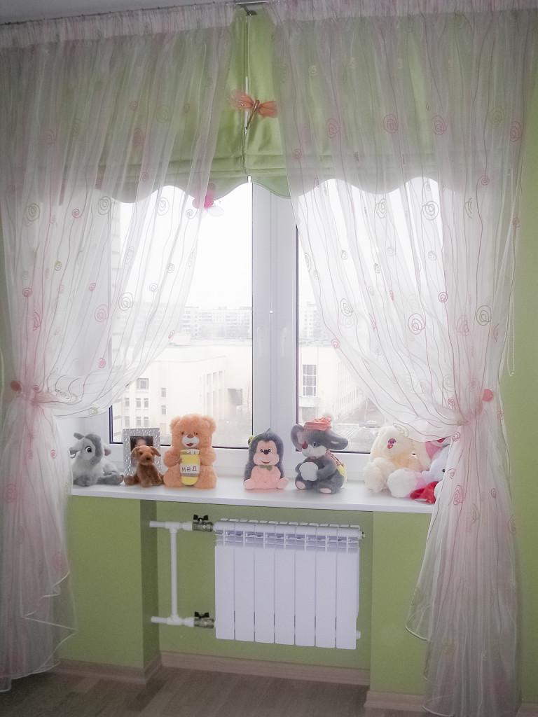 1.54 римские шторы в детскую