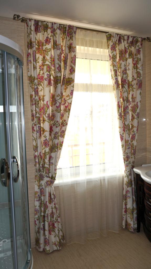 1.6 шторы в ванную
