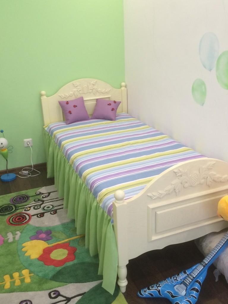 1.8 покрывало на кровать в детскую