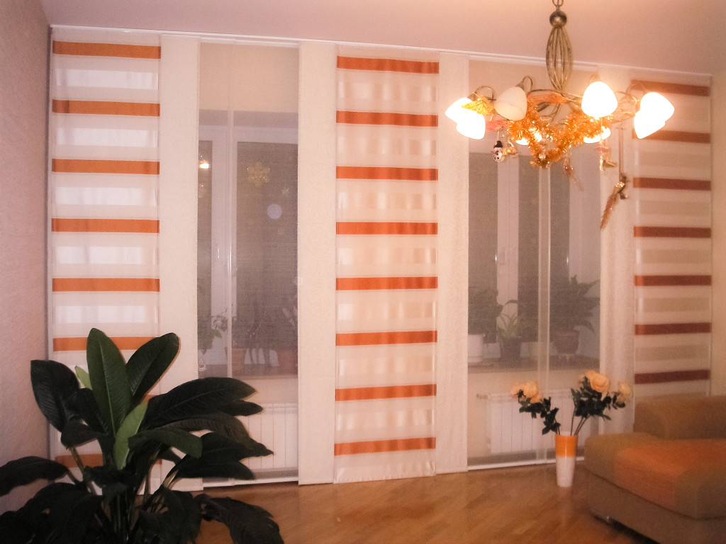 1.81 японские шторы в гостиную